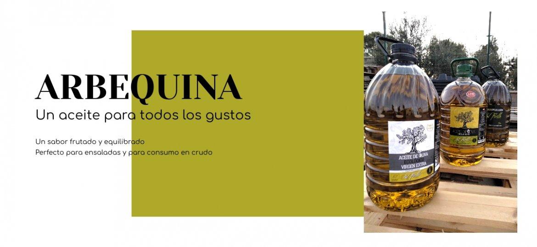 Aceite de Oliva Virgen Extra El Fuelle Arbequina