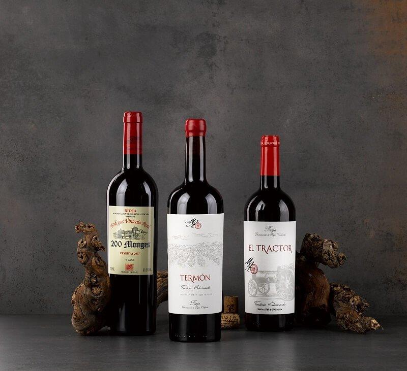 vino producto gourmet