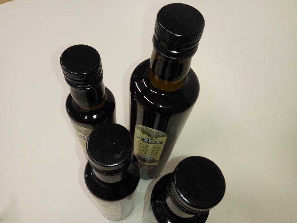 botellas vidrio oscuro para aceite