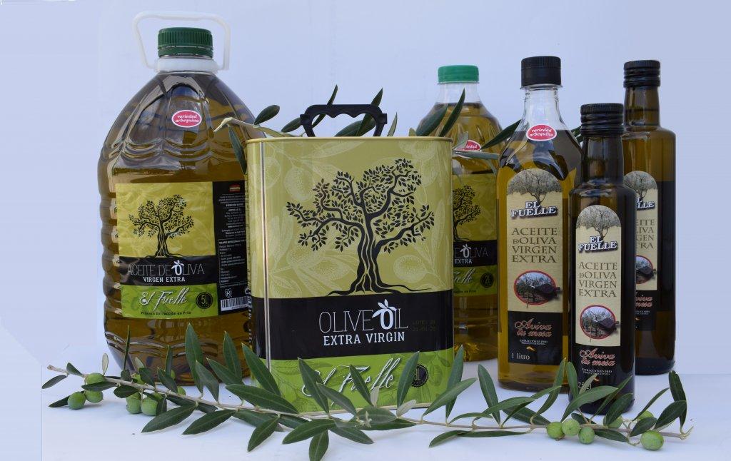 aceite de oliva virgen extra baja acidez
