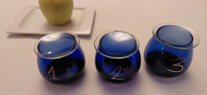 vasos cata aceite de oliva