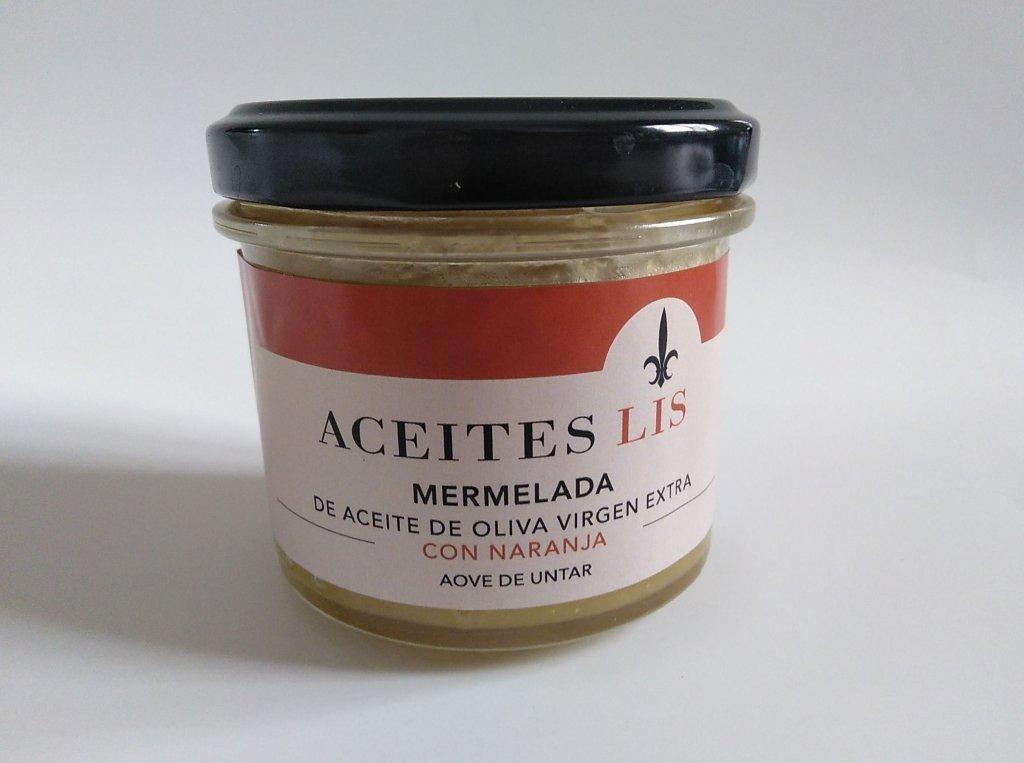 Mermelada de naranja amarga con aceite de oliva virgen extra
