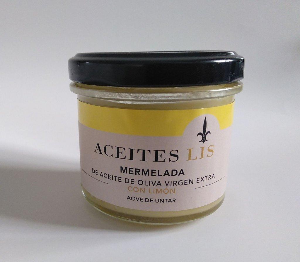 Mermelada de Aceites Lis con aceite de oliva virgen extra y limón